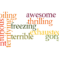 An easy conversation lesson: extreme adjectives